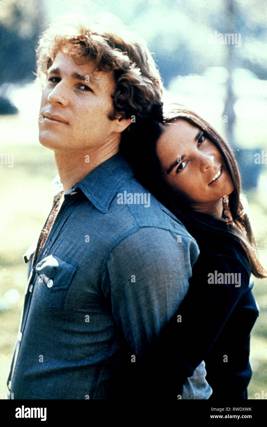 O'NEAL,MACGRAW, LOVE STORY, 1970 - Stock Image
