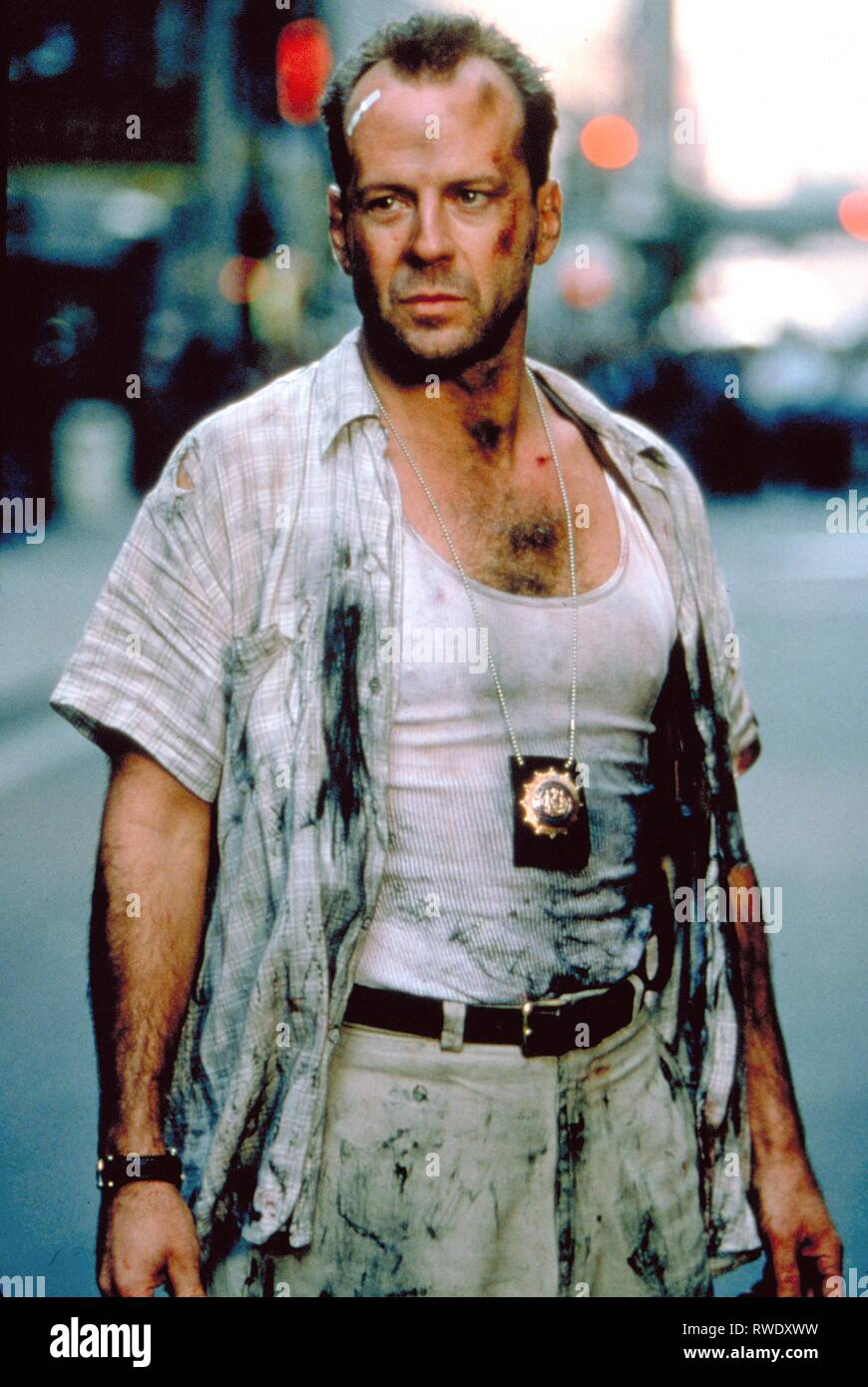 Bruce Willis Die Hard With A Vengeance 1995 Stock Photo Alamy