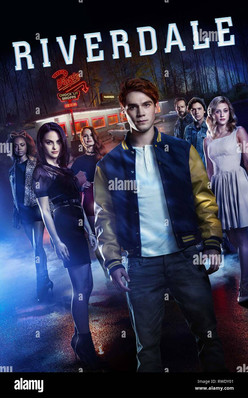 MURRAY,MENDES,PETSCH,APA,PERRY,SPROUSE,POSTER, RIVERDALE, 2017 - Stock Image