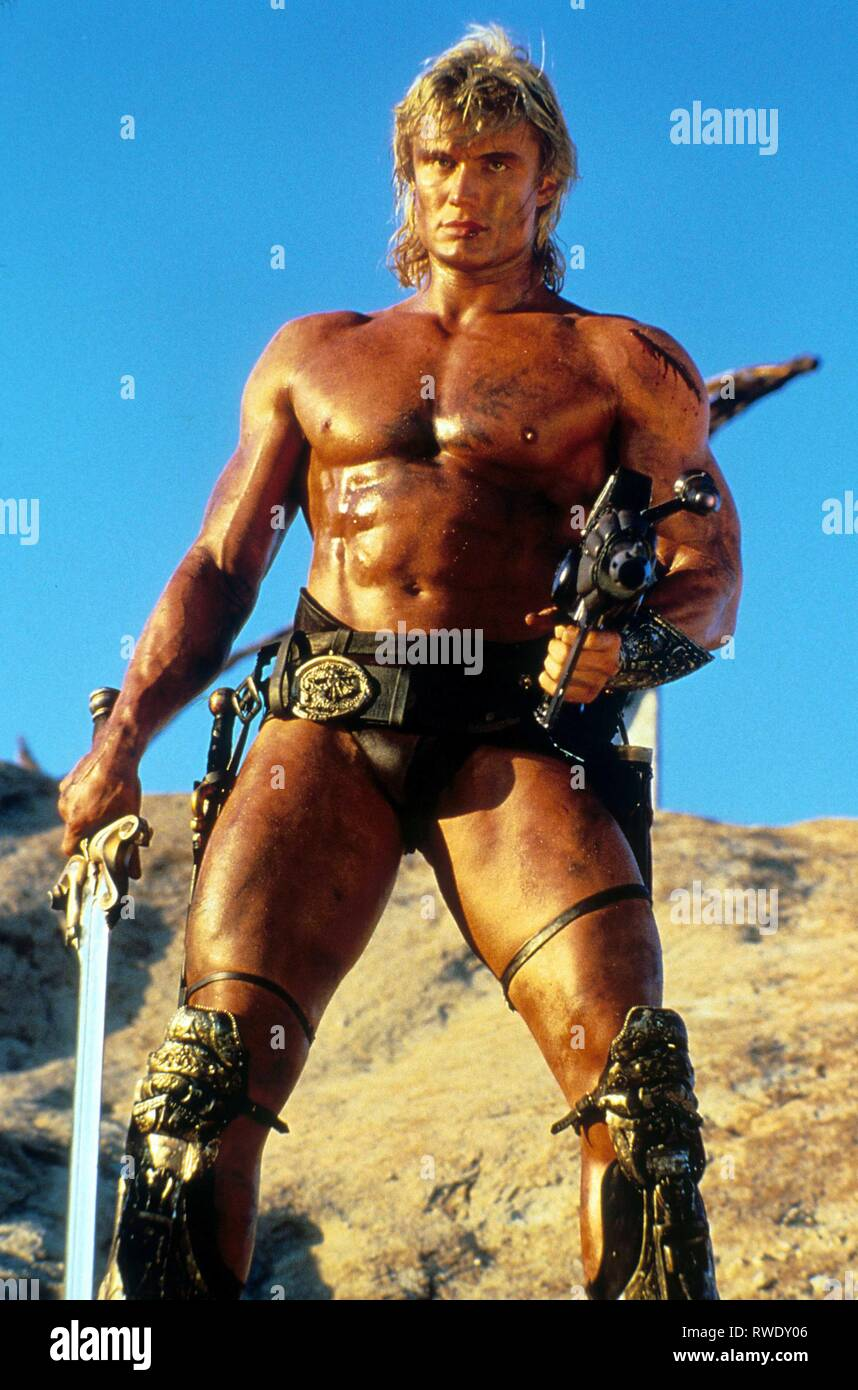 DOLPH LUNDGREN, MASTERS OF THE UNIVERSE, 1987 - Stock Image