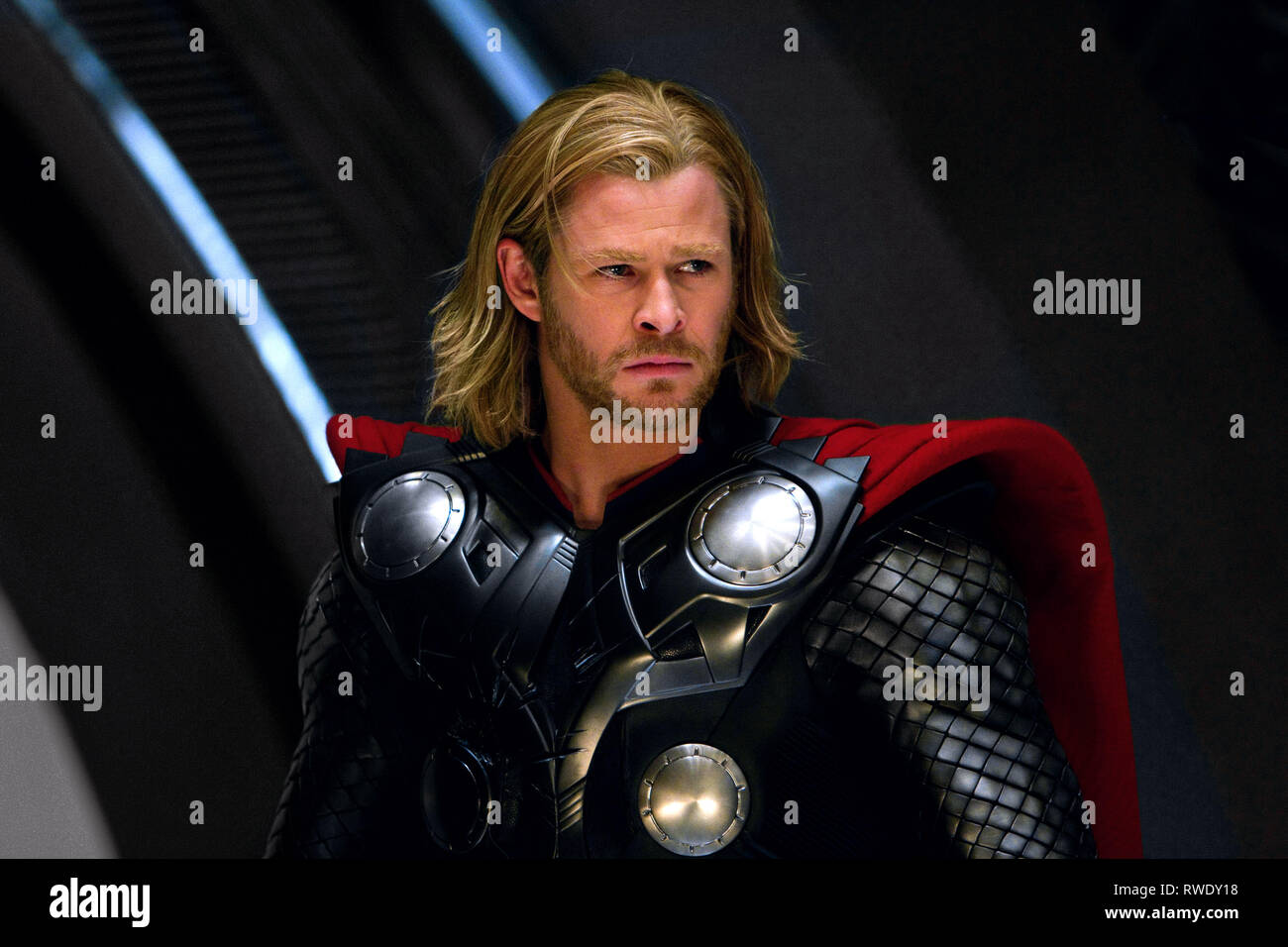 Chris Hemsworth Thor 2011 Stock Photo Alamy