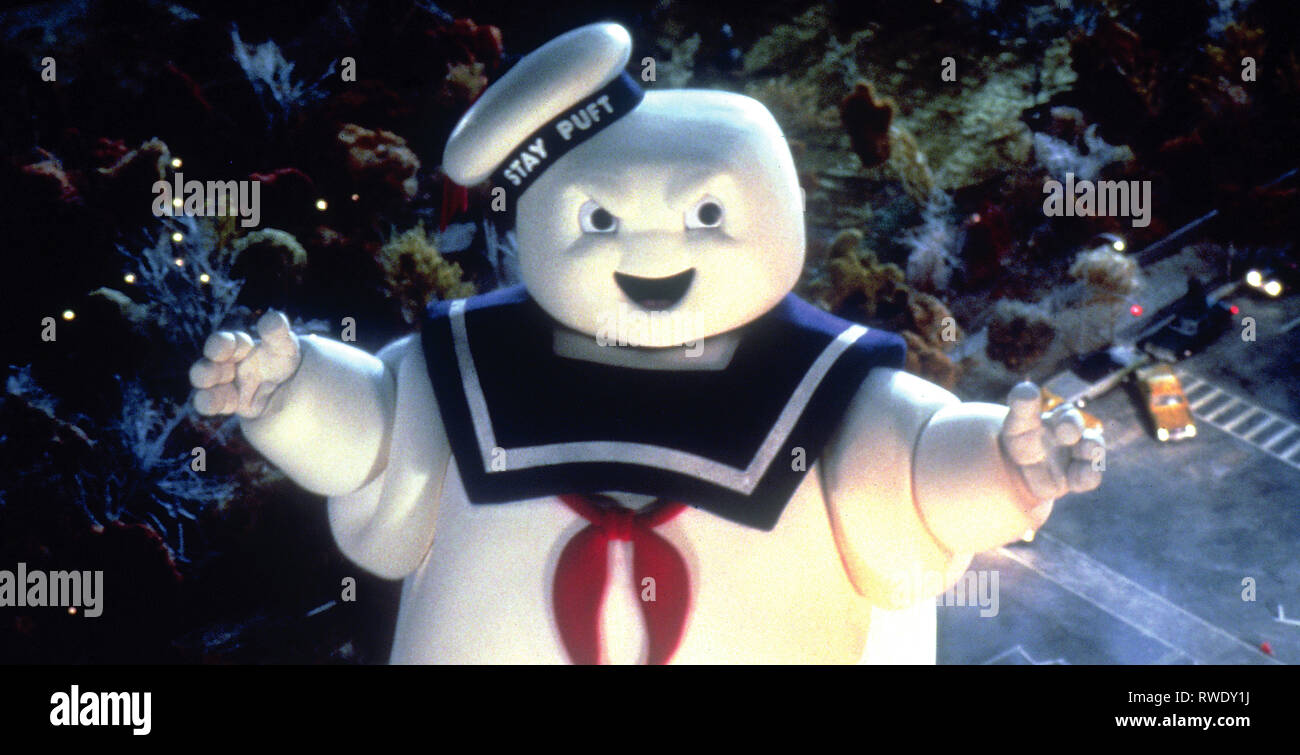 Stay Puft Marshmallow Man Ghostbusters 1984 Stock Photo Alamy