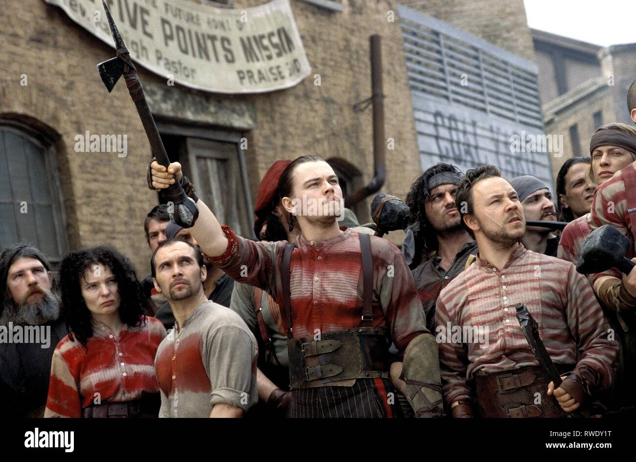 DICAPRIO,GRAHAM, GANGS OF NEW YORK, 2002 - Stock Image