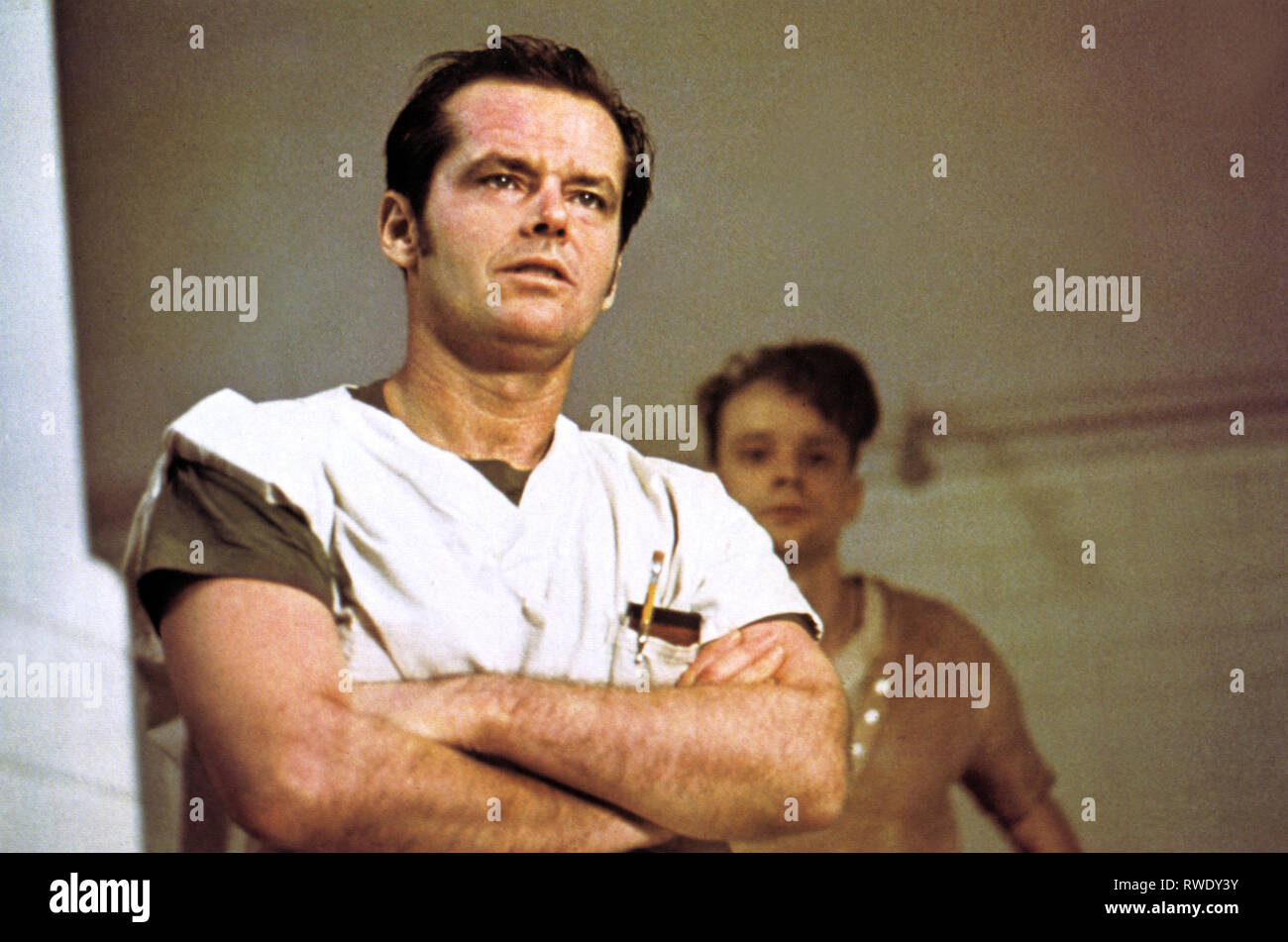 JACK NICHOLSON, ONE FLEW OVER THE CUCKOO'S NEST, 1975 - Stock Image