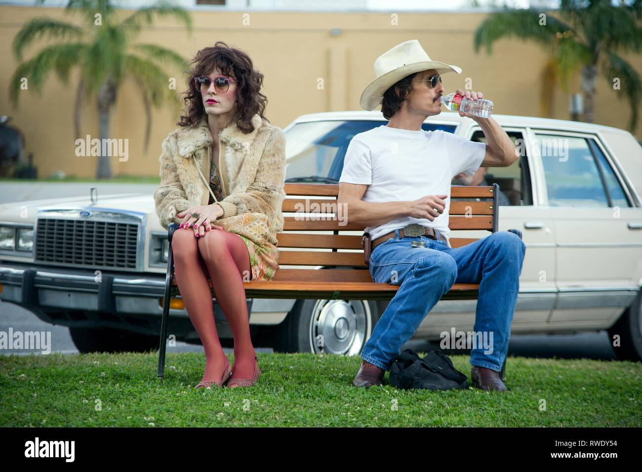 LETO,MCCONAUGHEY, DALLAS BUYERS CLUB, 2013 - Stock Image