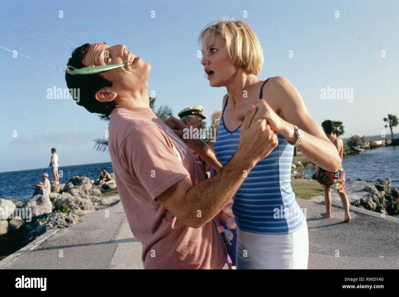 BEN STILLER,CAMERON DIAZ, THERE'S SOMETHING ABOUT MARY, 1998 - Stock Image