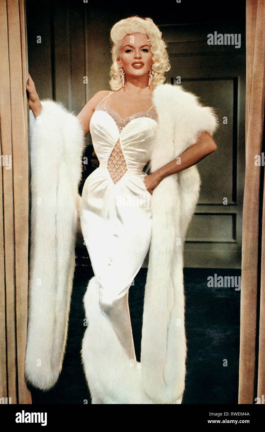 JAYNE MANSFIELD, THE GIRL CAN'T HELP IT THE GIRL CANT HELP IT, 1956 Stock  Photo - Alamy