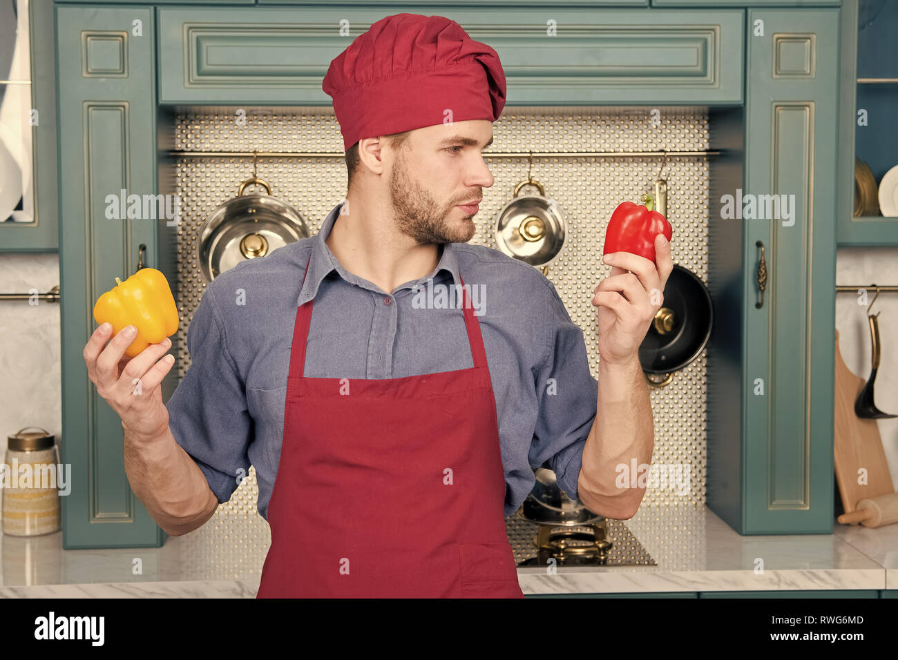 Choose not familiar vegetable. Work with less familiar ingredients. By using ingredients you do not cook often you thinking about specific items smell and meld other flavors in familiar dishes. - Stock Image