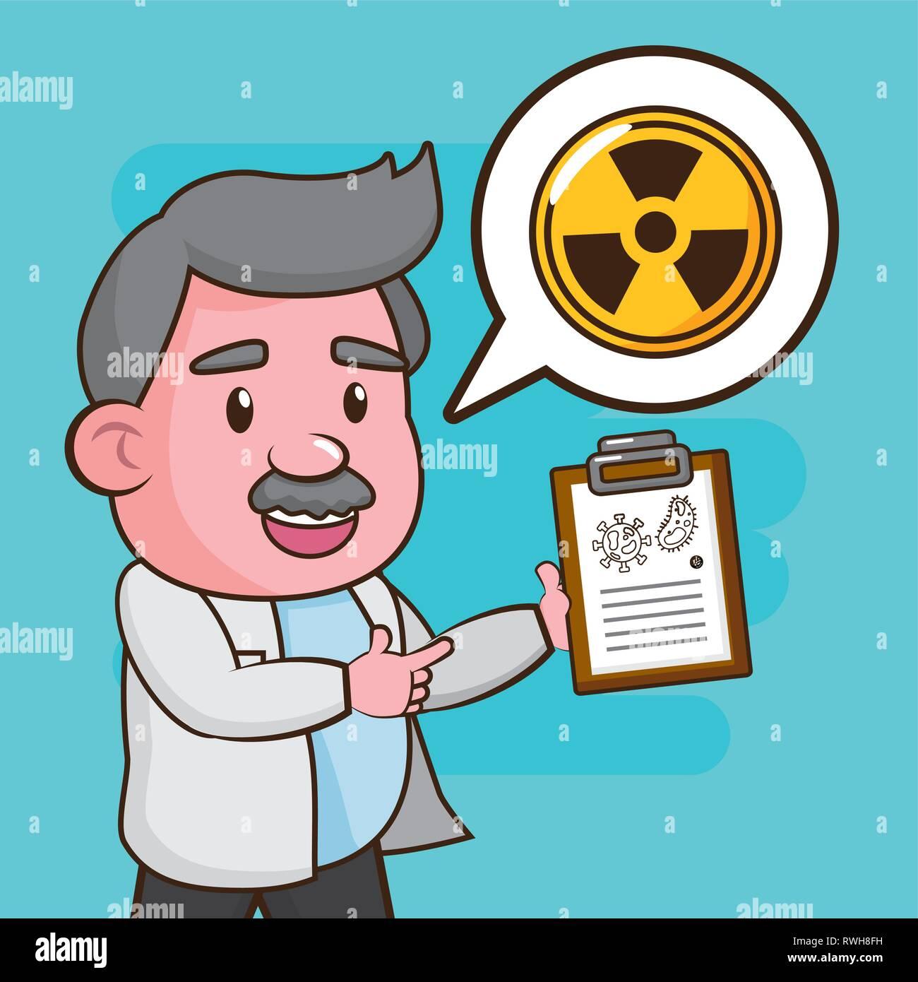 scientific laboratory science - Stock Image