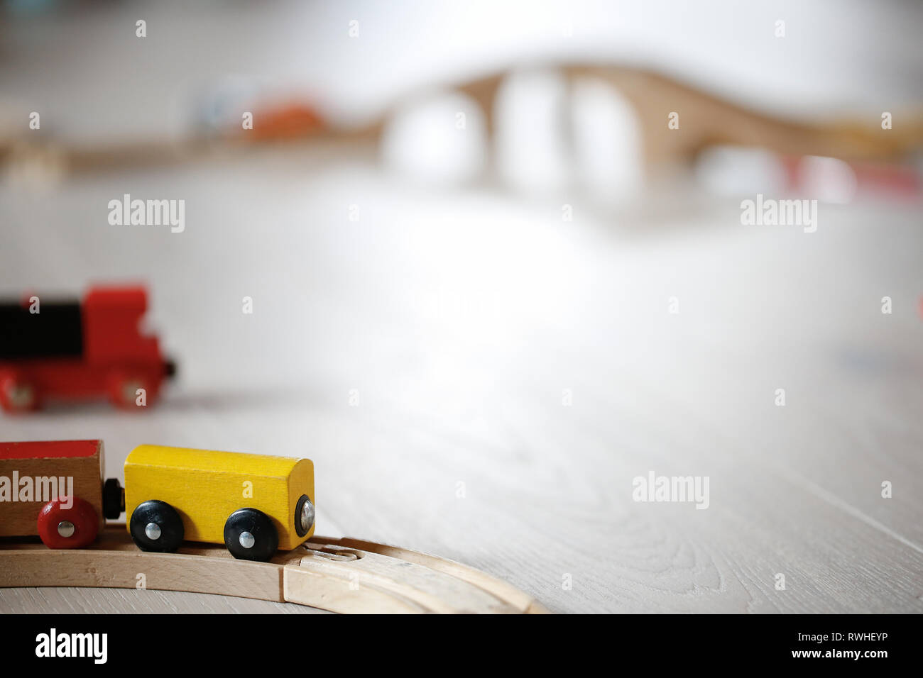 Toy Train Track Stock Photos & Toy Train Track Stock Images
