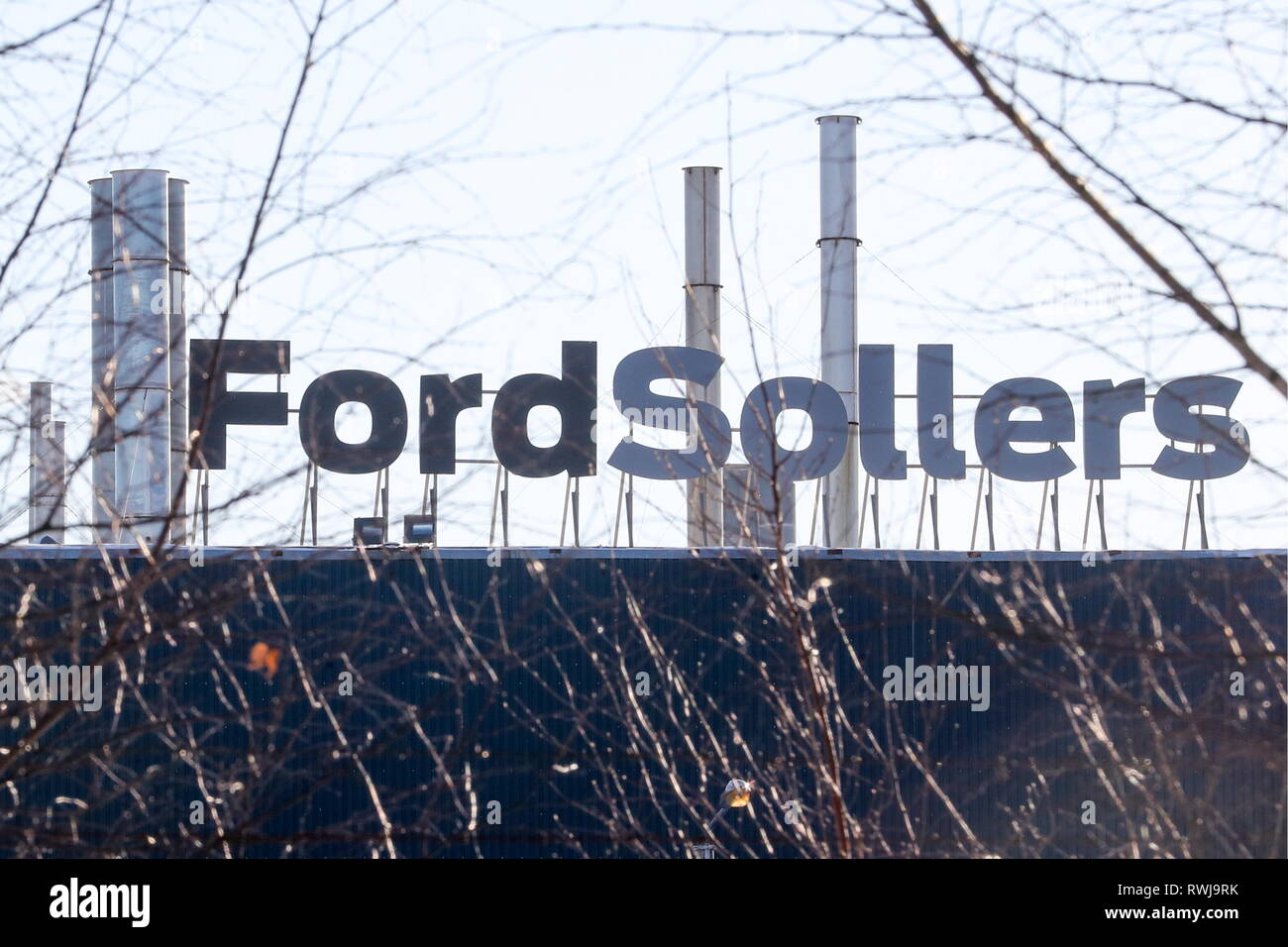 Russia 06th Mar 2019 Leningrad Region Russia March 6 2019 A View Of The Ford Sollers Plant In Vsevolozhsk The Enterprise Established By The Ford Motor Company And Sollers In 2011