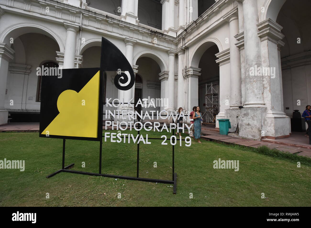 Kolkata, India. 6th Mar, 2019. A photographic exhibition was held at the Indian Museum as a part of the seven day long 'Kolkata International Photography Festival (KIPF) 2019' of over 250 photographers' works from over 40 countries that was started from 28th February to 6th March, 2019 at the ten iconic venues in Kolkata, it was organised by a Kolkata based private gallery. Credit: Biswarup Ganguly/Alamy Live News - Stock Image
