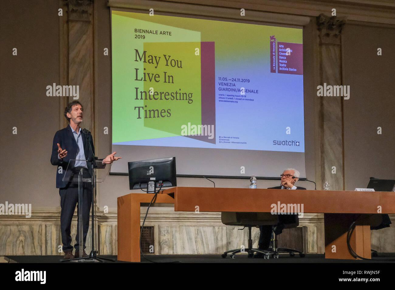 Art Biennale Venice 2019 Stock Photos & Art Biennale Venice 2019