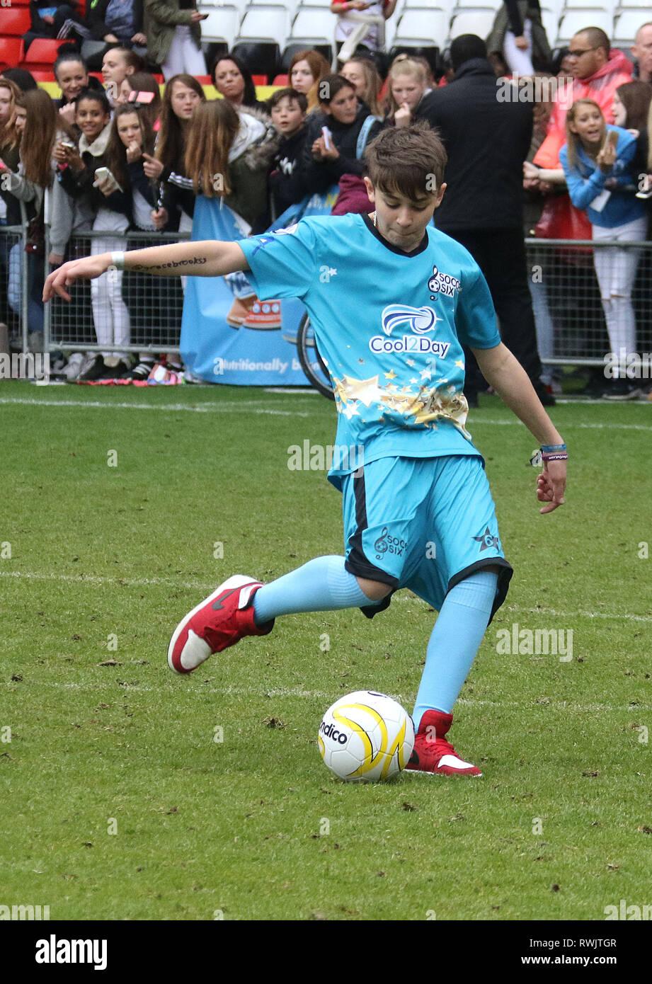 May 31 2015 London England Uk Celebrity Soccer Six