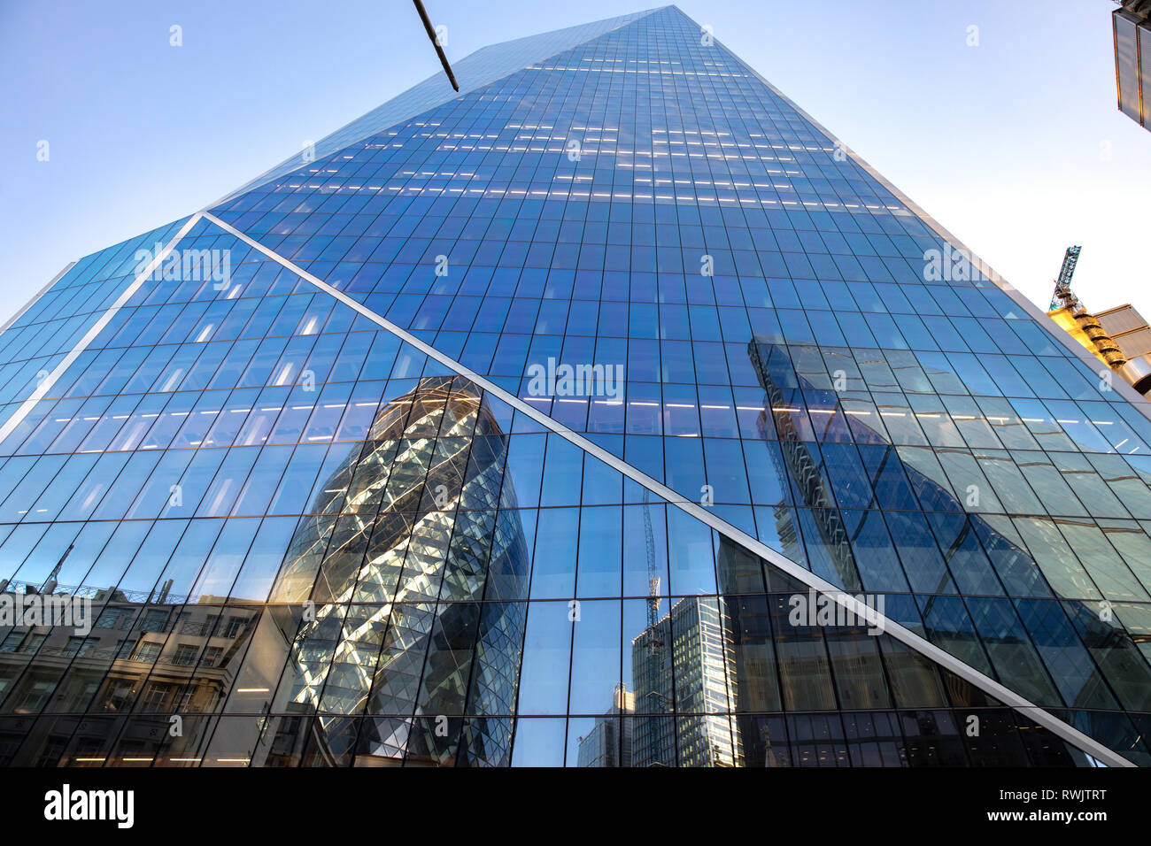 The Scalpel building in London - Stock Image