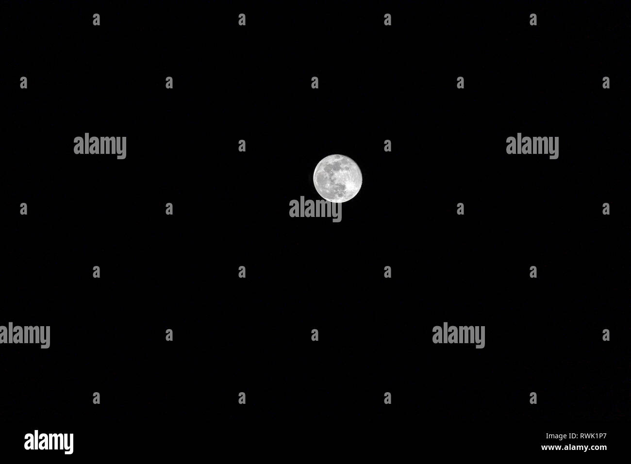 moon in the dark night RWK1P7