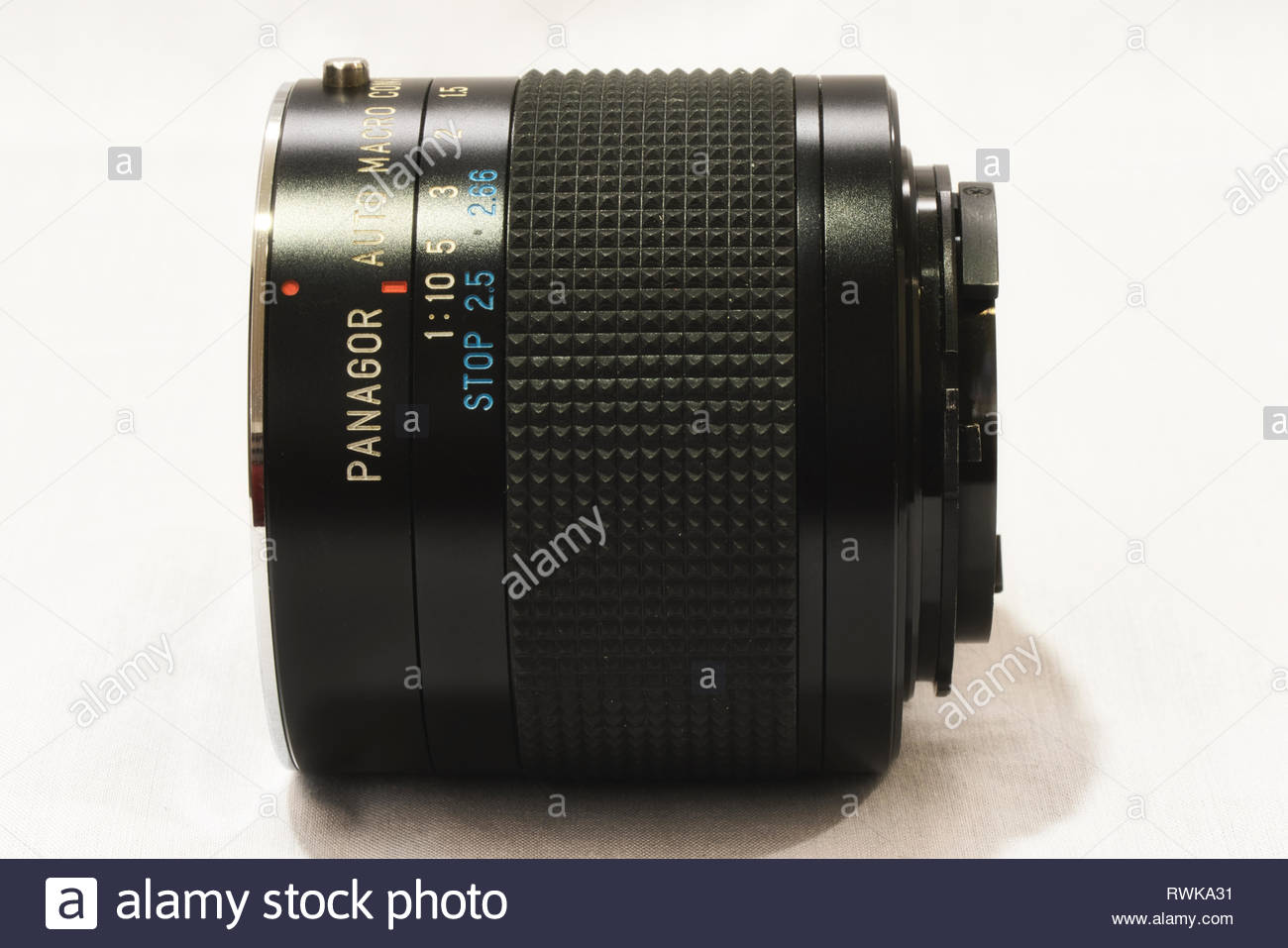 Contax Yashica C/Y Panagor 2x 1:1 Macro Tele Converter - Stock Image