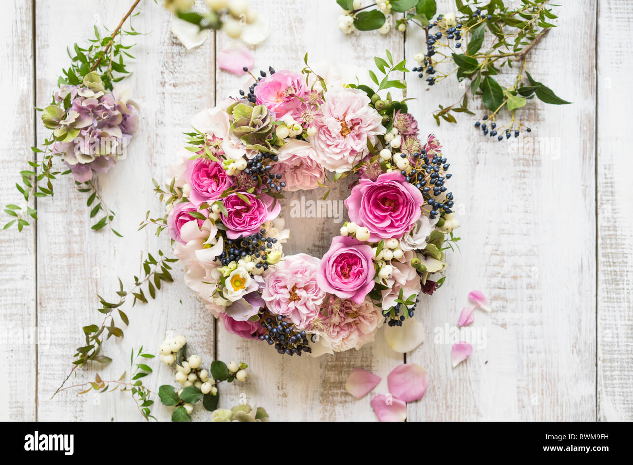 Flower arrangement - Stock Image