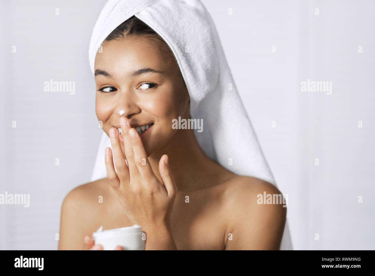 Beauty and care concept - Stock Image