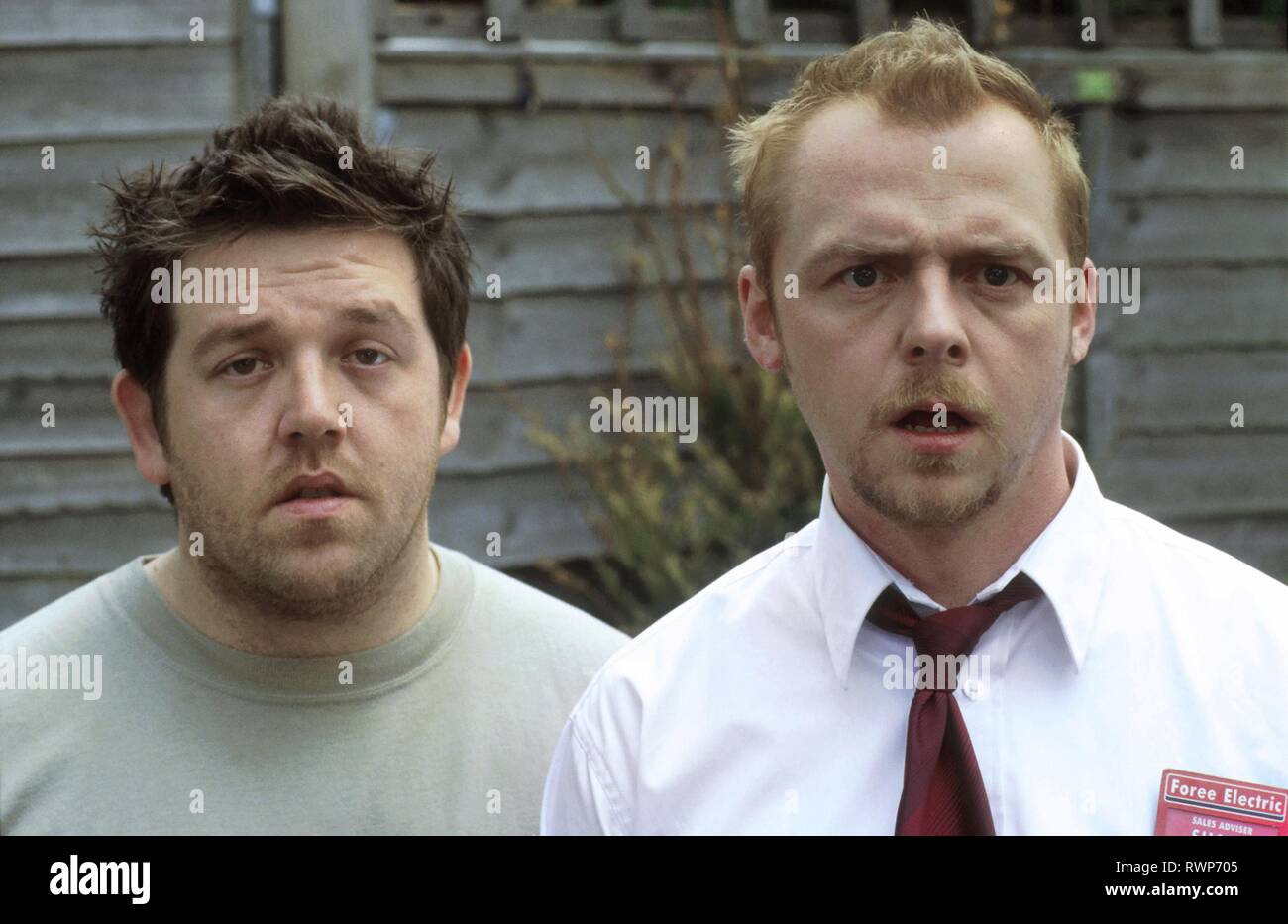 FROST,PEGG, SHAUN OF THE DEAD, 2004 - Stock Image
