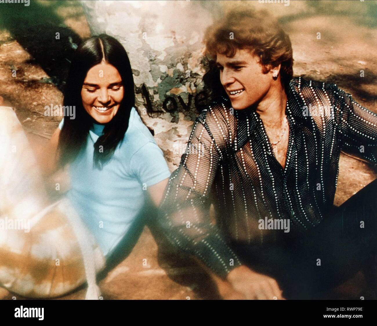 MACGRAW,O'NEAL, LOVE STORY, 1970 - Stock Image