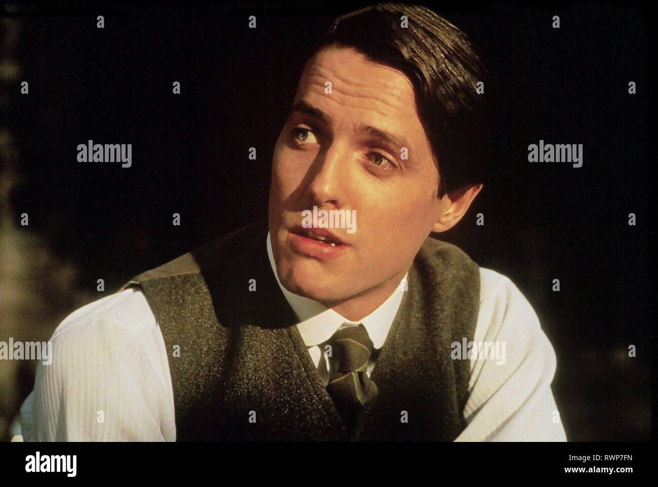 HUGH GRANT, THE ENGLISHMAN WHO WENT UP A HILL BUT CAME DOWN A MOUNTAIN, 1995 - Stock Image