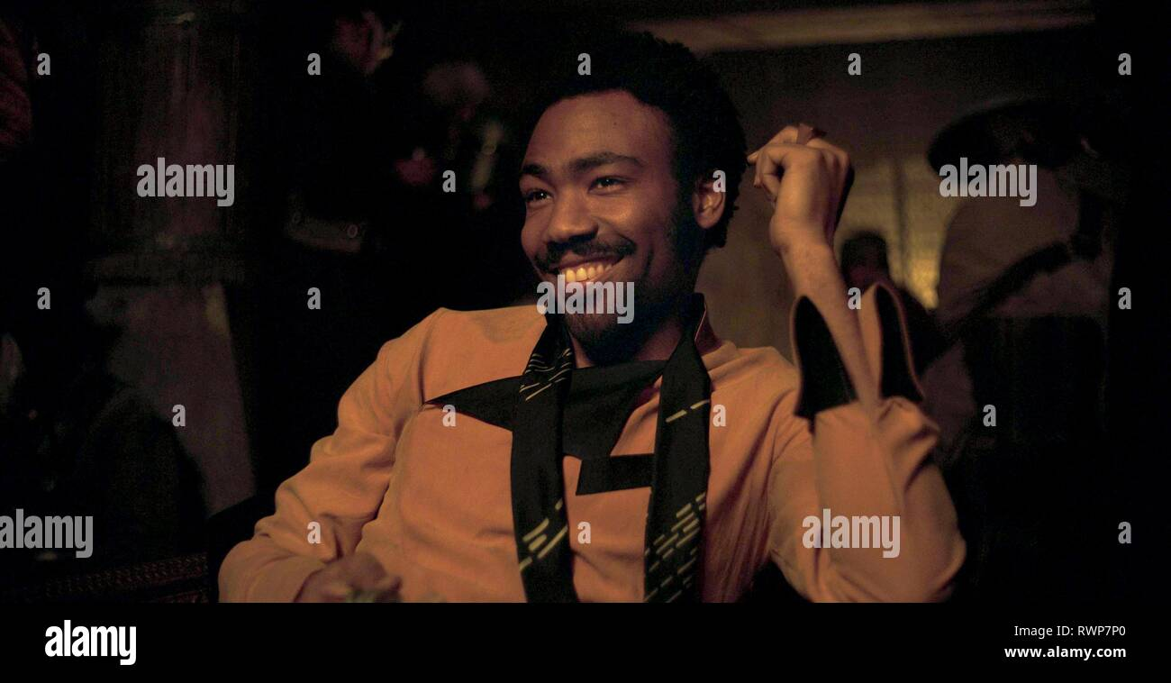 DONALD GLOVER, SOLO: A STAR WARS STORY, 2018 - Stock Image