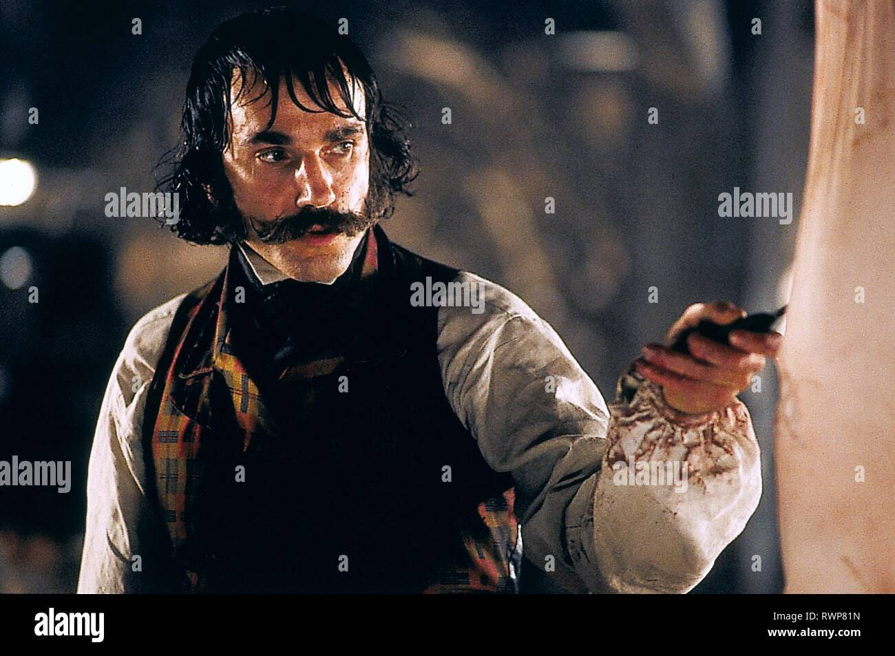 DANIEL DAY-LEWIS, GANGS OF NEW YORK, 2002 - Stock Image