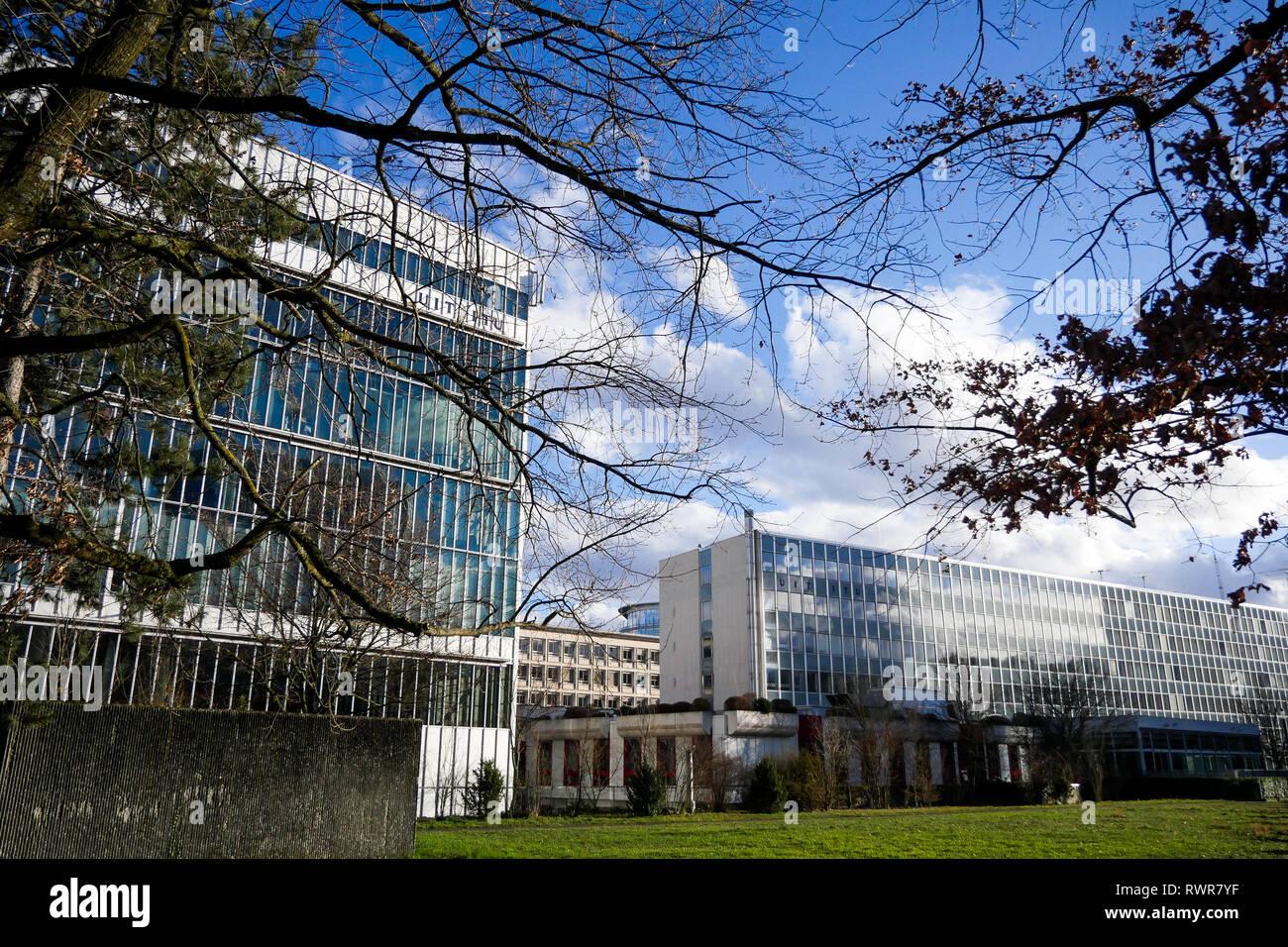 International Telecommunication Union (ITU), Geneva, Swiss - Stock Image