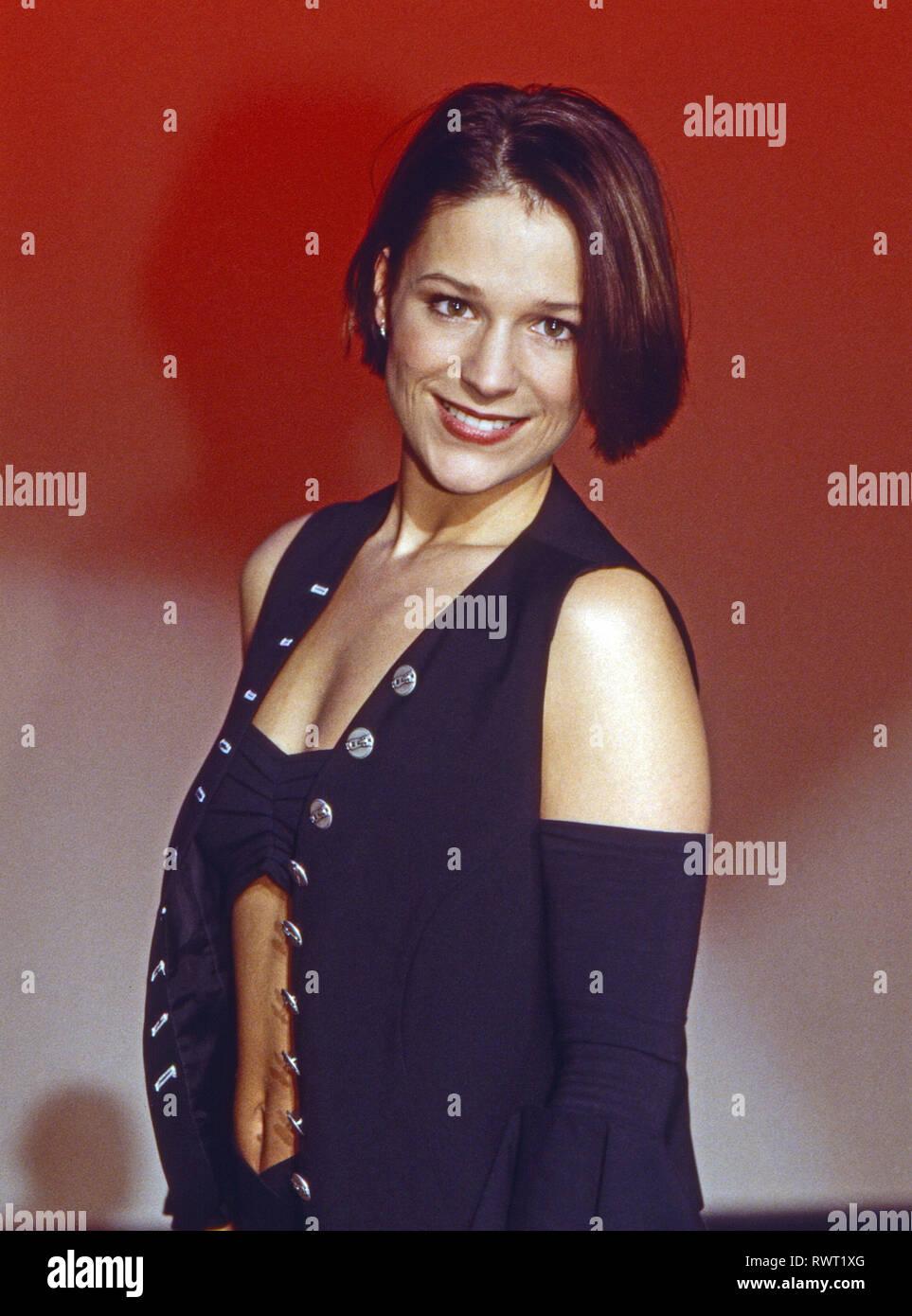 Michelle Deutsche Schlagersangerin In Der Fernsehshow Wunschbox Deutschland 1996 German Schlager Singer Michelle In A German Tv Show Germany 1996 Stock Photo Alamy