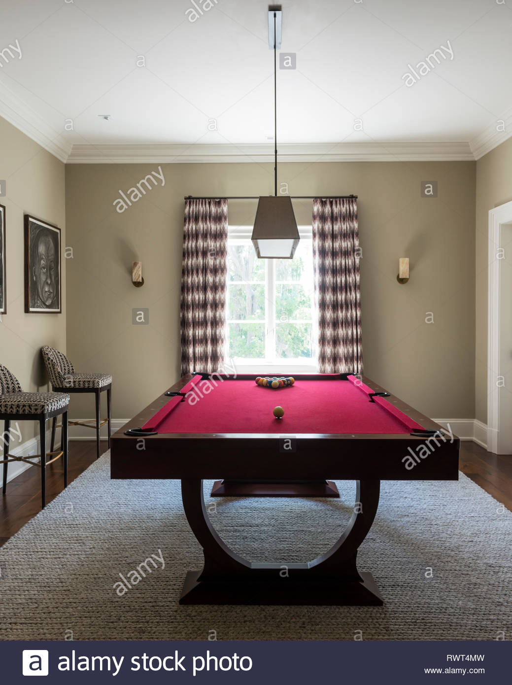 Billiard Room Stock Photos & Billiard Room Stock Images - Alamy on country home office design, country home garden design, country home living room design, country home kitchen design,