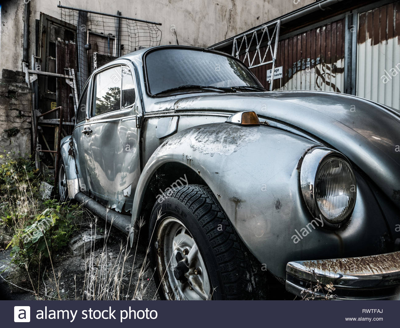 decay beetle car - Stock Image