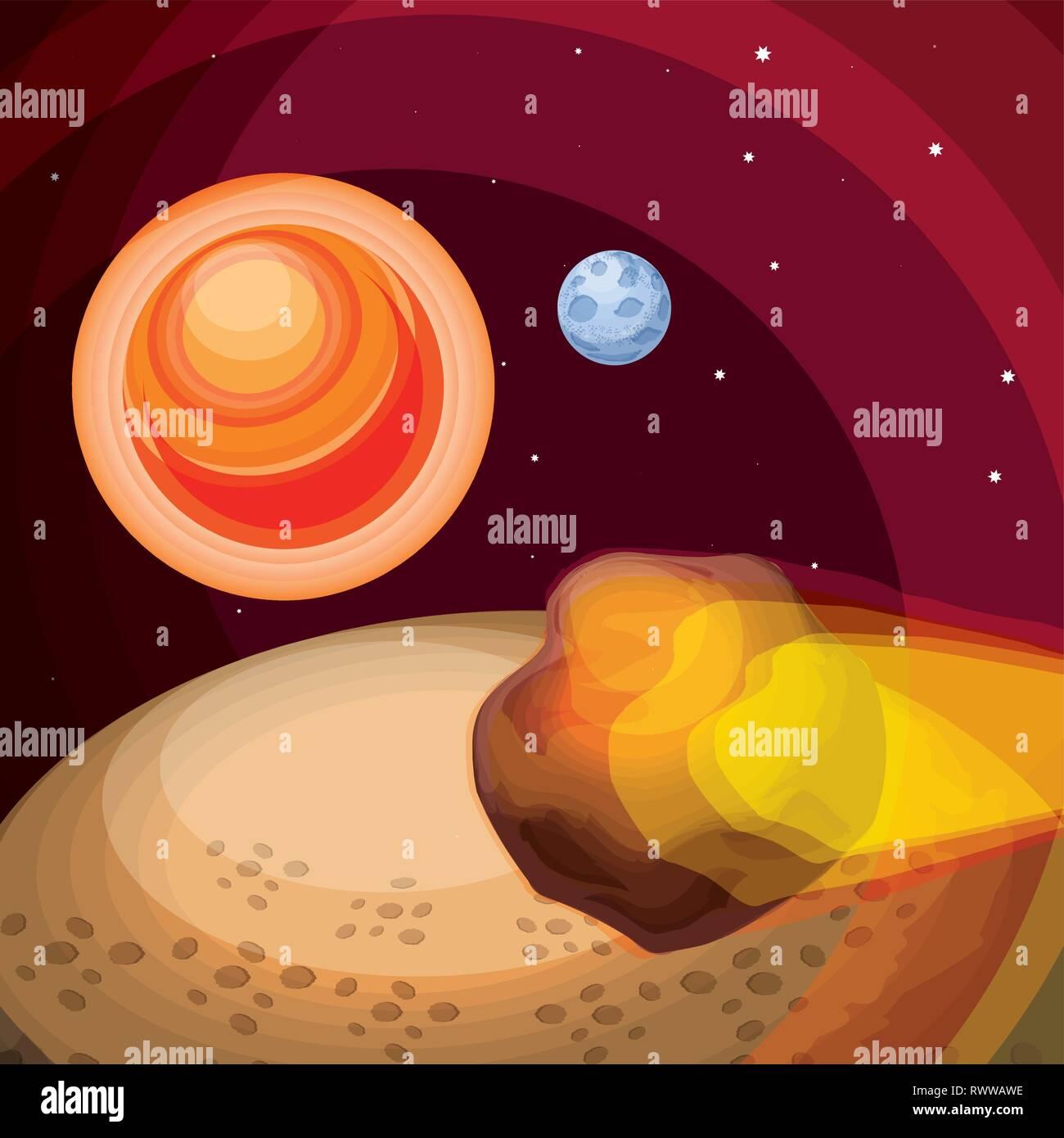 Asteroid Art Design