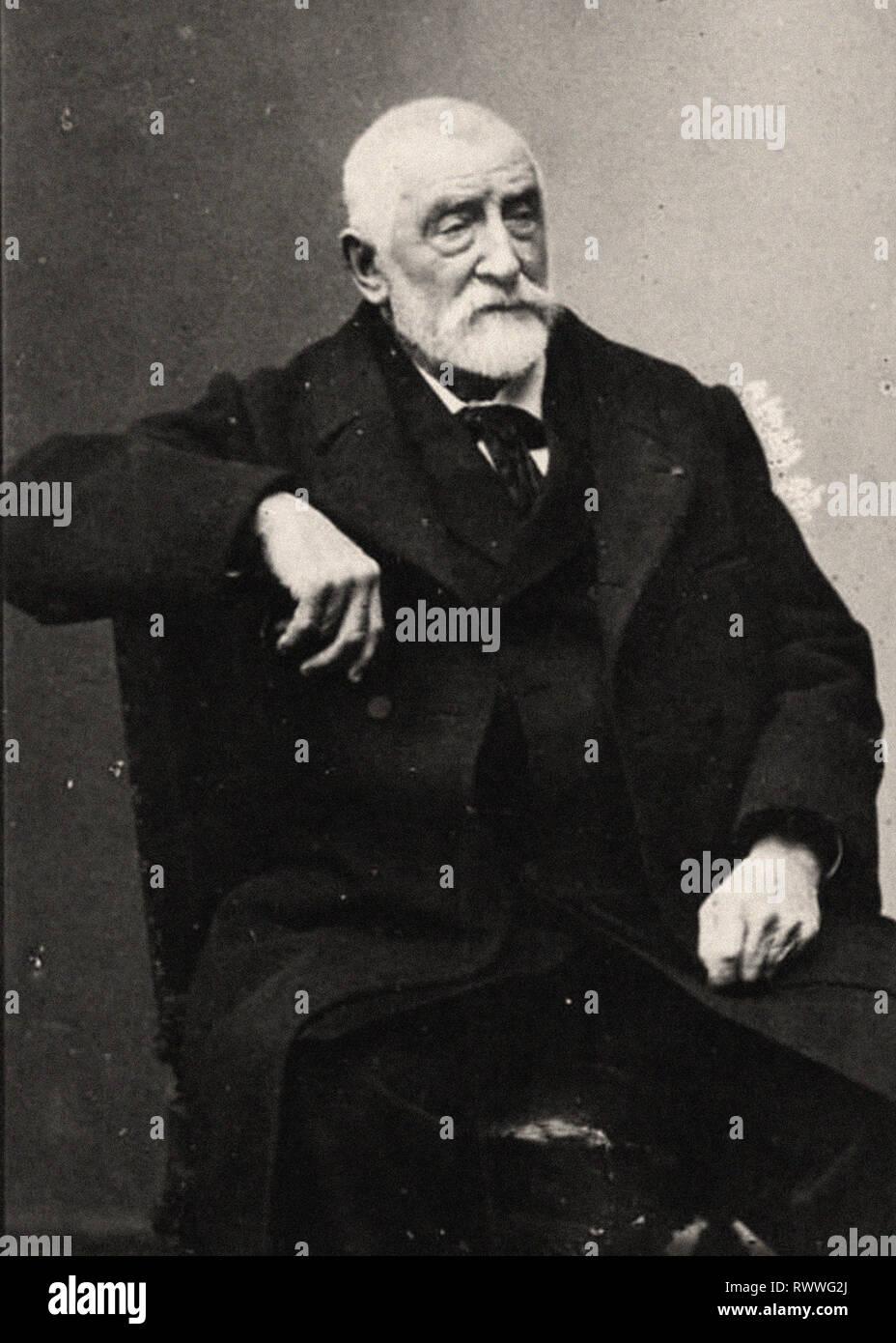 Photographic portrait of Harpignies - Stock Image