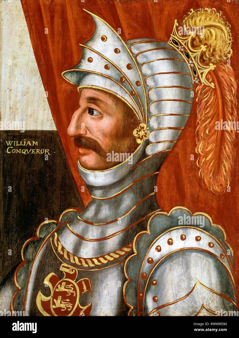 William the Conqueror (c.1028-1087), portrait painting, c. 1618-1620 - Stock Image