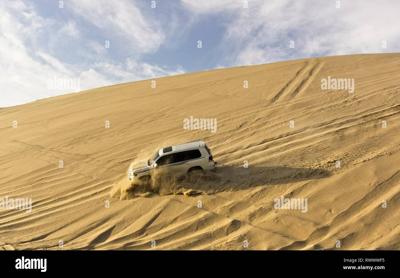 Desert Off-roading - Stock Image