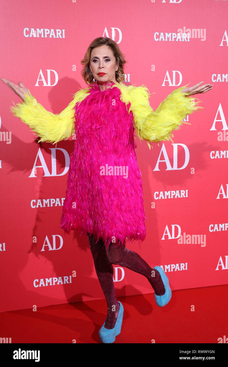 best website 42f67 13cff Agatha Ruiz de la Prada seen on the red carpet during the ...