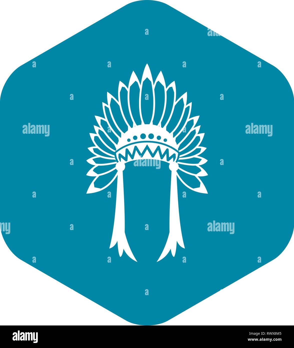 0b3b9a594e2 Indian headdress icon