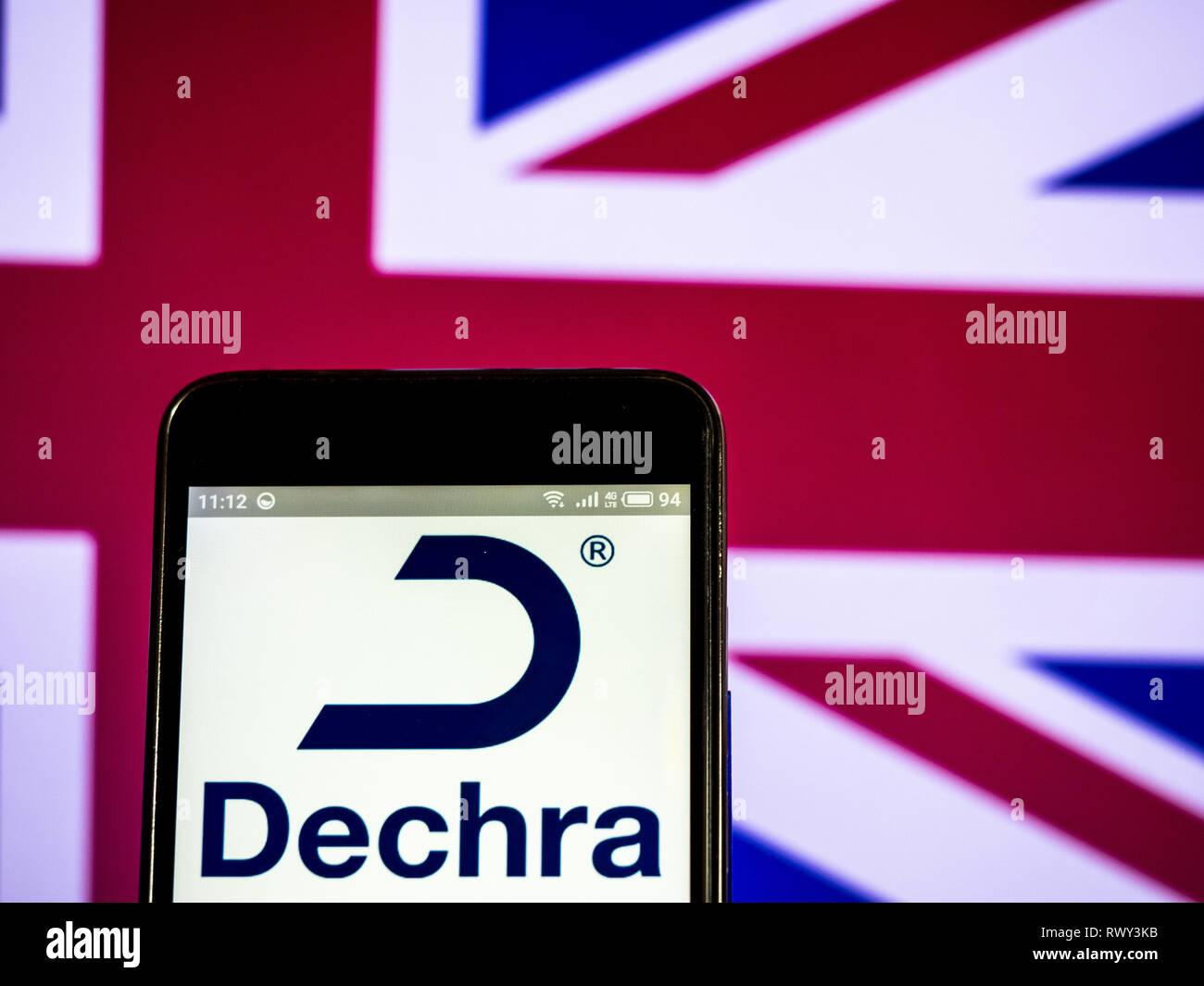 Ukraine  7th Mar, 2019  Dechra Pharmaceuticals PLC company