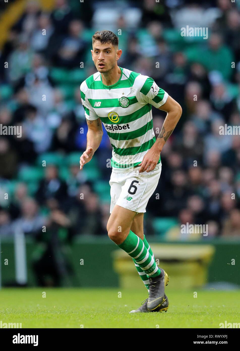 Celtic's Nir Bitton - Stock Image