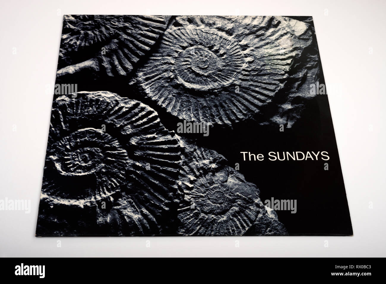 The Sundays vinyl LP record - Stock Image