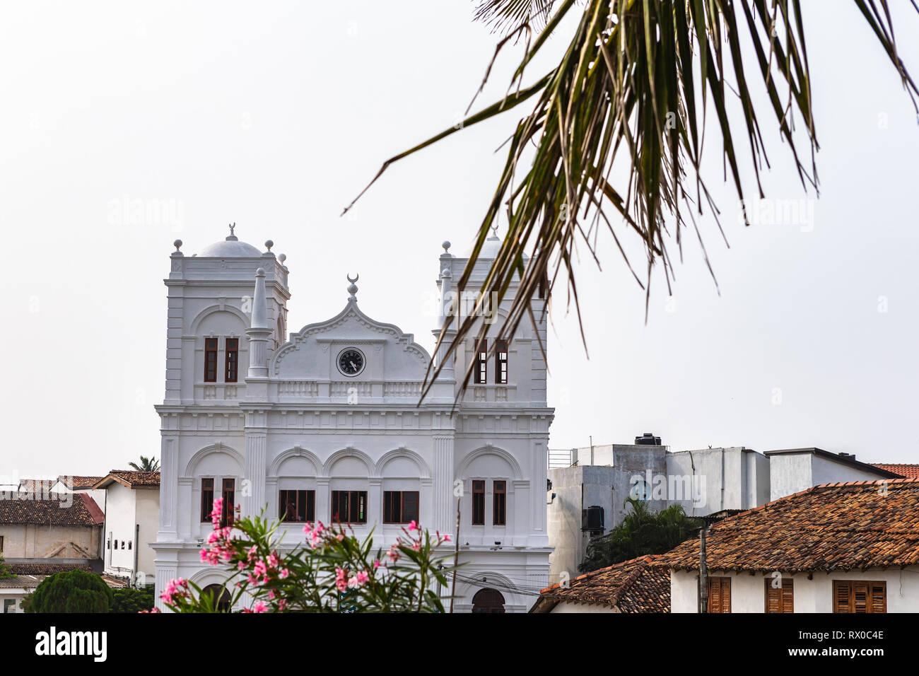 Meera Mosque. Galle, Sri Lanka. Stock Photo