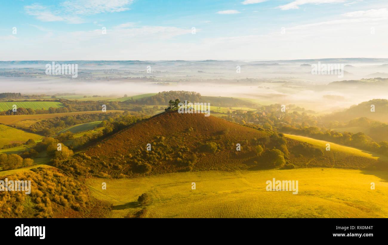 Colmers Hill Bridport  Dorset, England - Stock Image