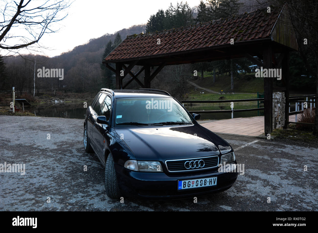 Audi A4 B5 Stock Photos Audi A4 B5 Stock Images Alamy