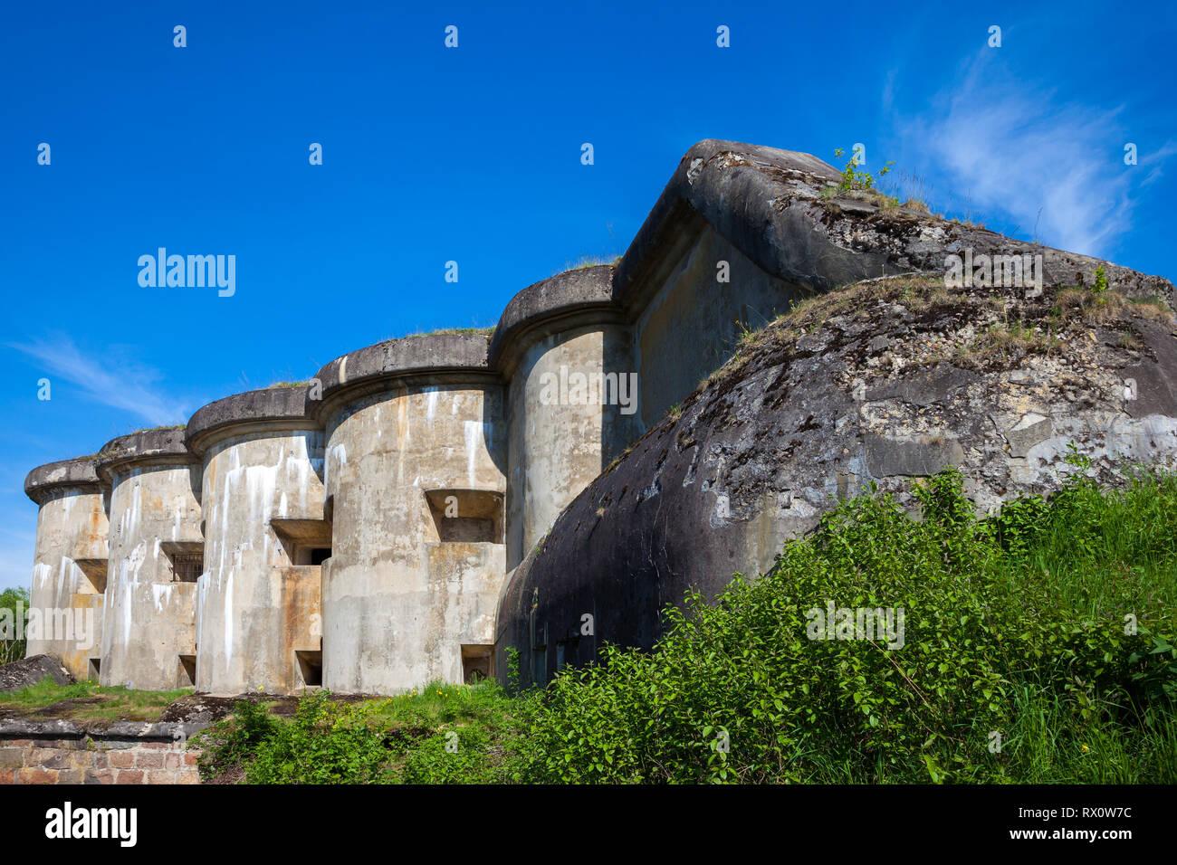 Brest, Belarus - May 12, 2015: The Fifth Fort of Brest Fortress in Belarus. Brest, Belarus. - Stock Image