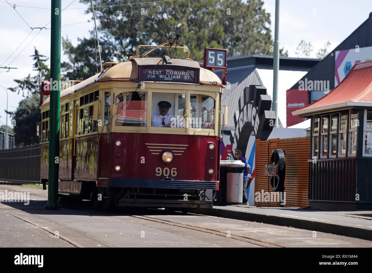 MOTAT, Auckland - Stock Image
