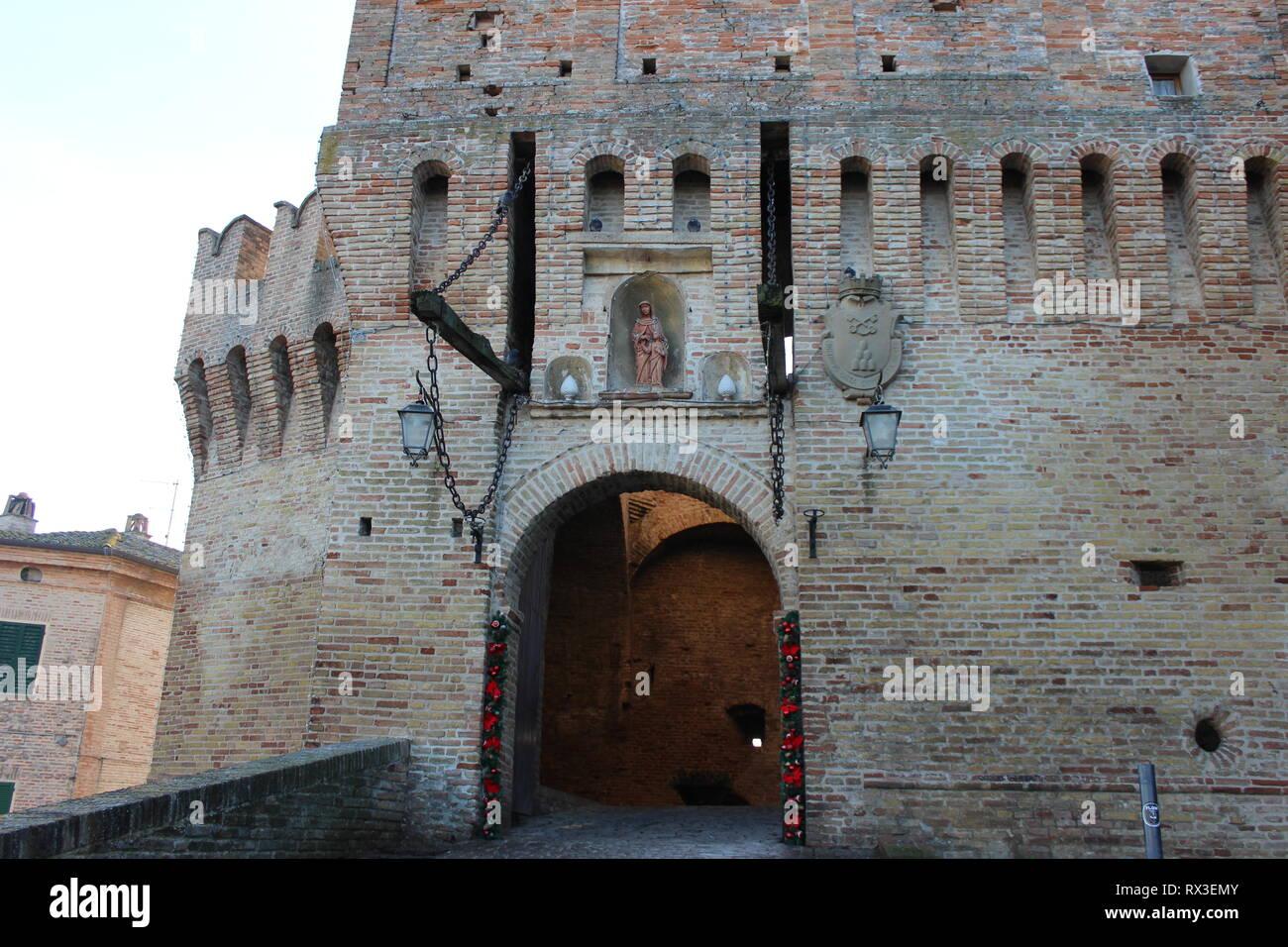 Antico castello Stock Photo