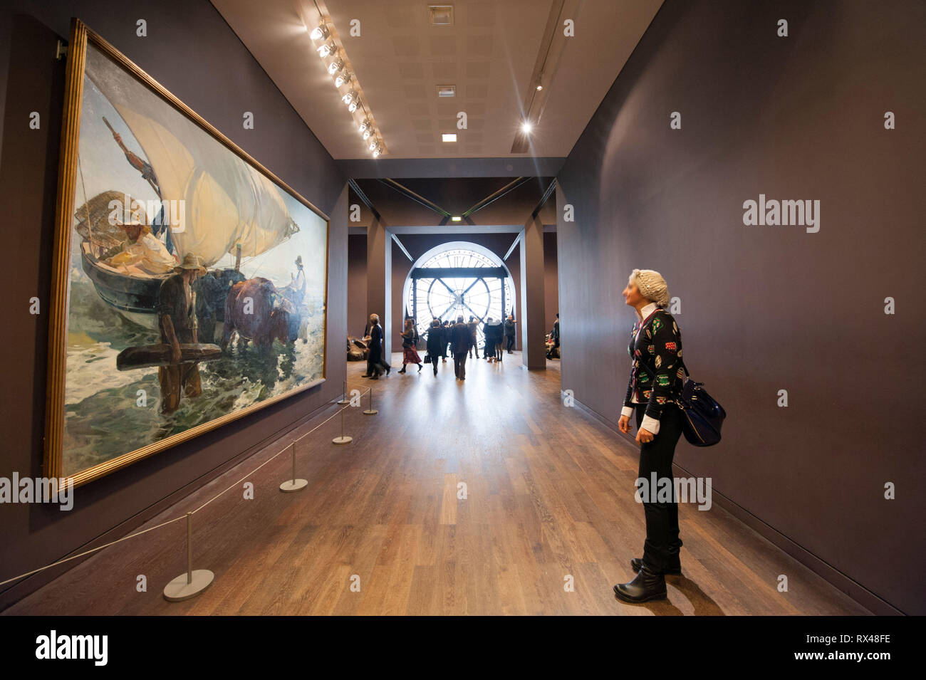 Paris (France): The Musee d'Orsay museum. - Stock Image