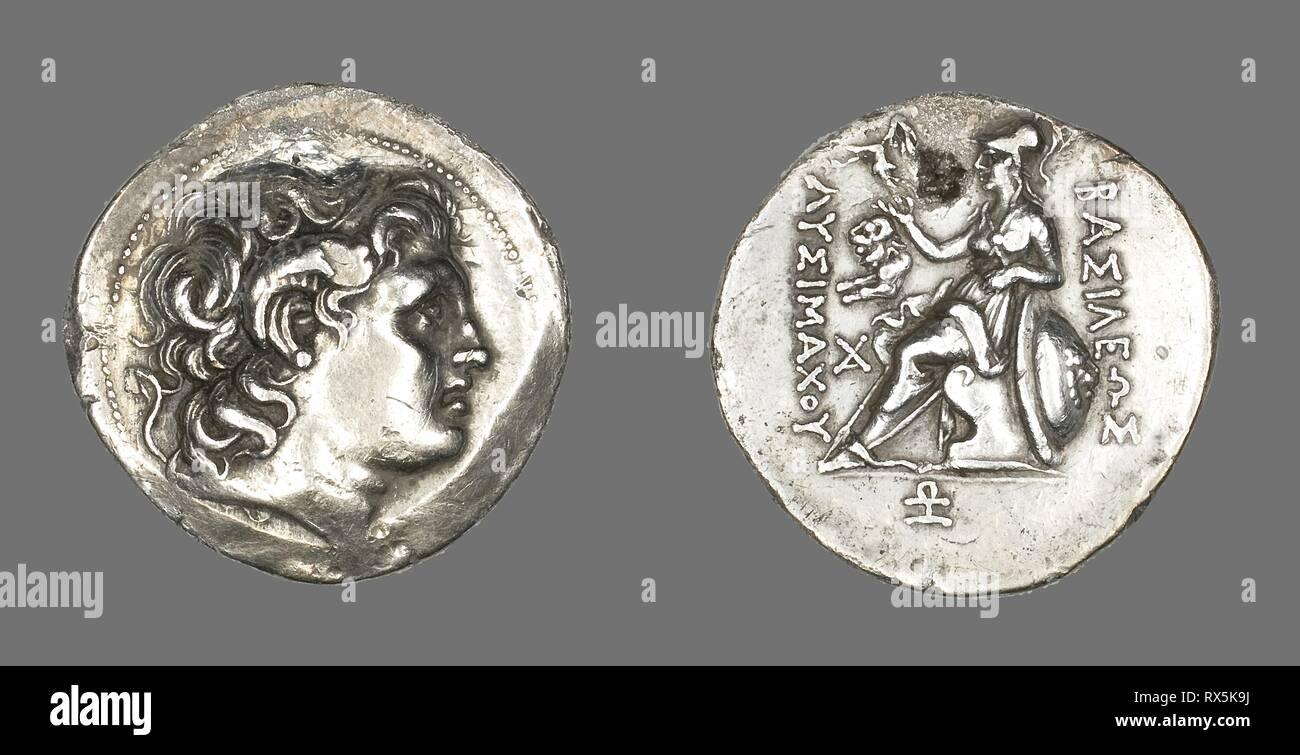 Tetradrachm (Coin) Portraying Alexander the Great  Greek