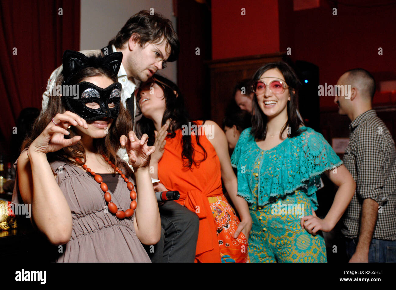 Club night 'Warped' at The Mission Room,London. 29.03.08 - Stock Image